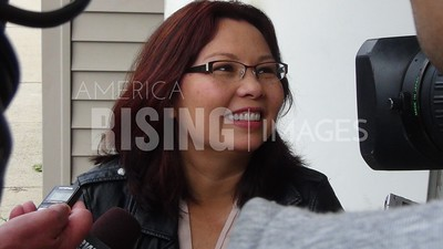 Tammy Duckworth At Sangamon County Democrats East Side Field Office In Springfield, IL