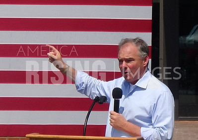 Tim Kaine At Roanoke College Healthcare Rally In Salem, VA