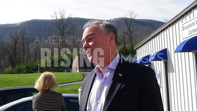 Tim Kaine Tours Southwest Virginia Center Of Excellence Center In Bluefield, VA