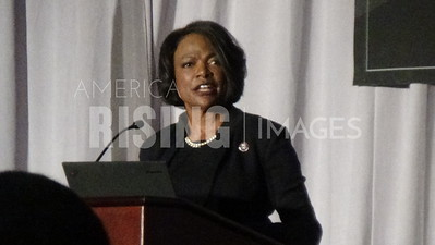 Val Demings attends the City of Orlando's 4th Annual Civil Rights Award Ceremony at Rosen Shingle Creek Orlando at 9939 Universal Boulevard in Orlando, FL