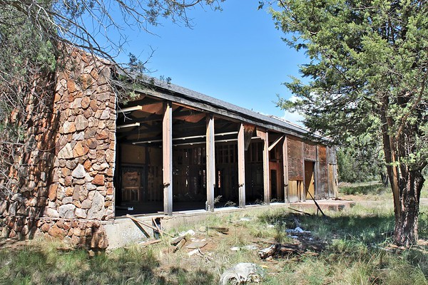 Abandoned trading post (2018)