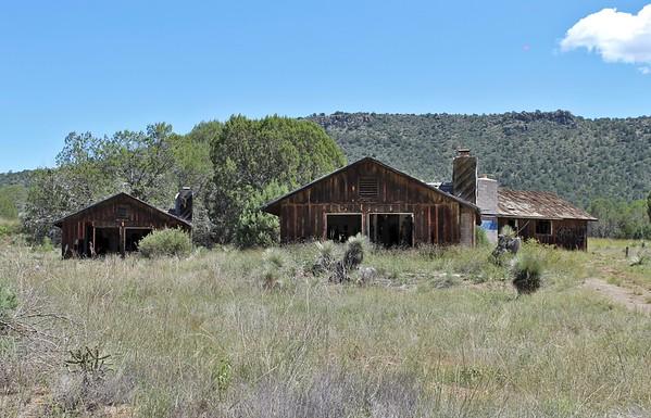 Abandoned cabins at Seneca (2018)