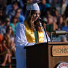 SKIP HARRIS - SPECIAL TO THE CENTRAL RECORD<br /> Seneca Class of 2016 Salutatorian Erin Welling