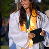SKIP HARRIS - SPECIAL TO THE CENTRAL RECORD<br /> Samantha Scarpello's joy needs no description during the Seneca High School Class of 2016 Graduation