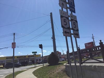 Seneca Turnpike in Madison County NY