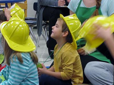 Firemen visit Child Development  10-23-14