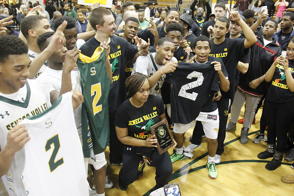 Seneca Valley Boys Basketball vs. Tuscorora HS   3-4-17