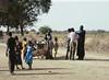 Tall Man Arguing, Fulani Village, Dagana, Senegal (Bronica 645)