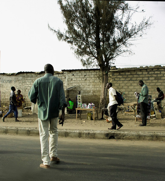 Crossing, Highway N1, Dakar, Senegal