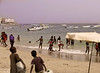 Bathers and Boats, N'Gor Township, Dakar, Senegal