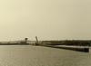 Opening the Lock (Up River View), Maki Diama Dam, Senegal