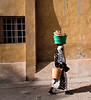 Going Down a Side Street, Podor, Senegal