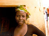 Woman in Green Scarf, I, Langue de Barbarie, St. Louis, Senegal