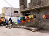 Clothesline, Langue de Barbarie, St. Louis, Senegal