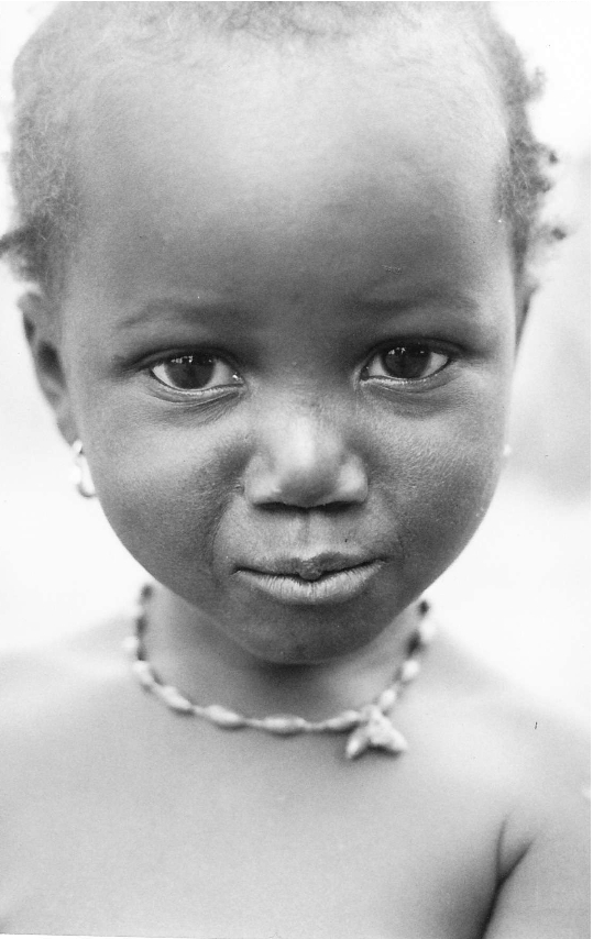 Daughter of my Senegalese Soul Sister. Her name is Mama SideBe, though she calls herself Lill Maman Loucar-d Bass.