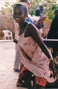Mame Diop dances Sabar. Mame Diop is my SOUL SISTER! I have been back to Senegal four times since I completed Peace Corps. Mame Diop finally visited the USA for my wedding in 2012.