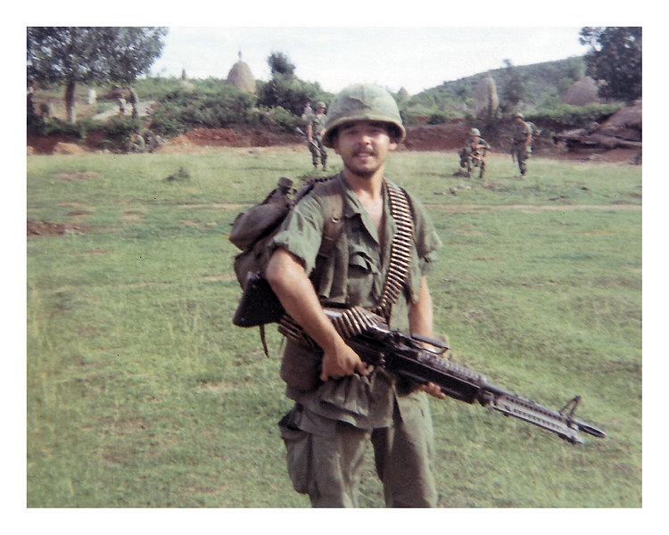 PS-30: Paul Senick on patrol with M-60