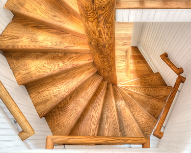 Wooden Stairway 7529