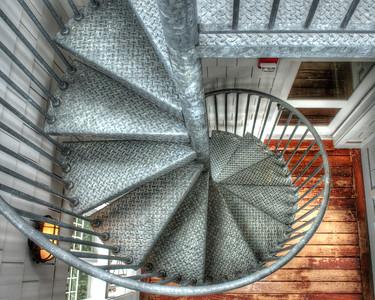 Spiral Metal Staircase 2286