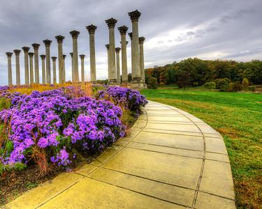 Walkway to the Columns 2812
