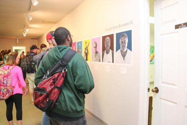 Senior Art Show - Fall 2015