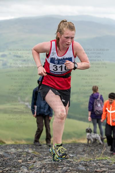 British mountain running championships - Skiddaw-18