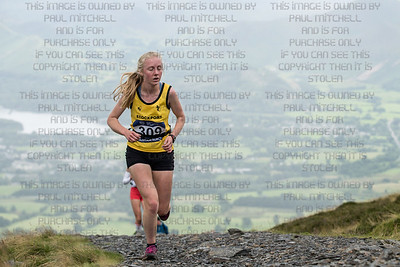 British mountain running championships - Skiddaw-8
