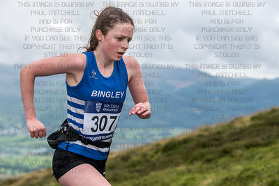 British mountain running championships - Skiddaw-24