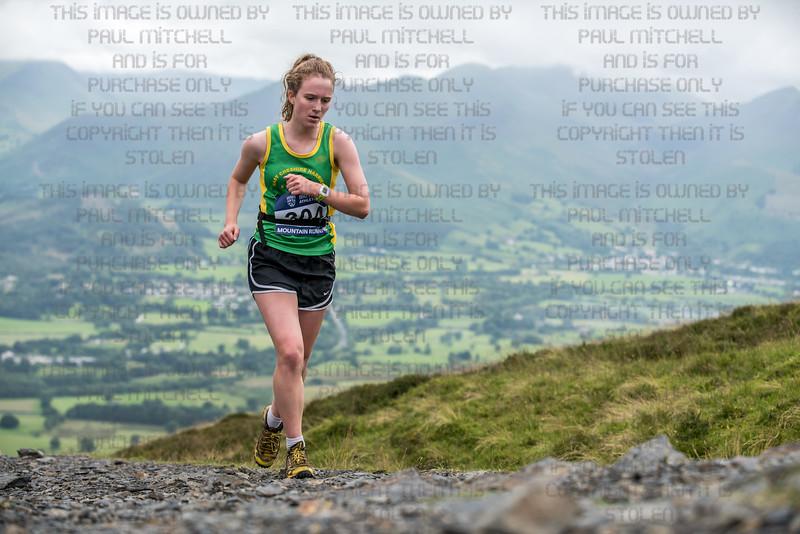 British mountain running championships - Skiddaw-20