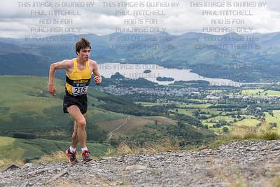Senior British mountain running championships - Skiddaw