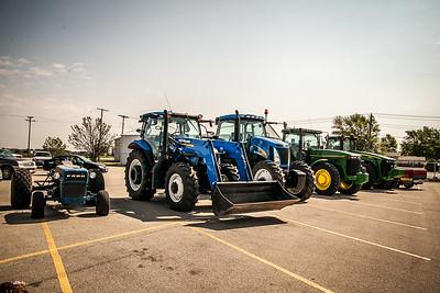 Senior Day Tractors
