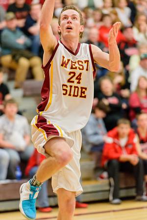 District Playoffs West Side 62 v  Soda 52-66