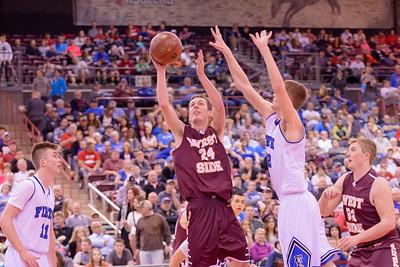 State Finals West Side 36 v  Firth 42-102-7