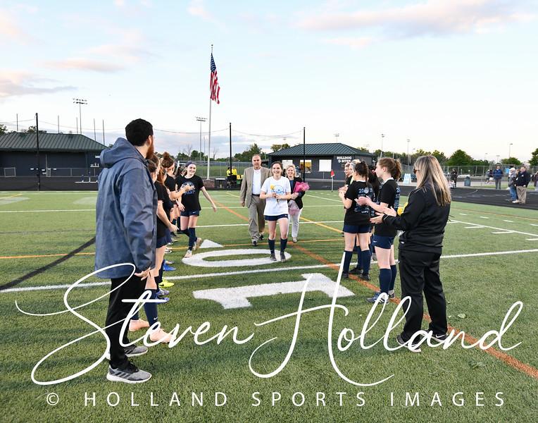 Soccer Varsity Girls - Stone Bridge Senior Night