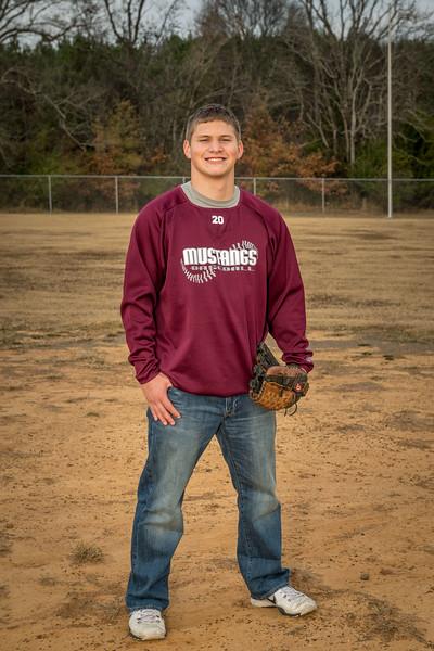 Hunter Lawrence senior photo take.