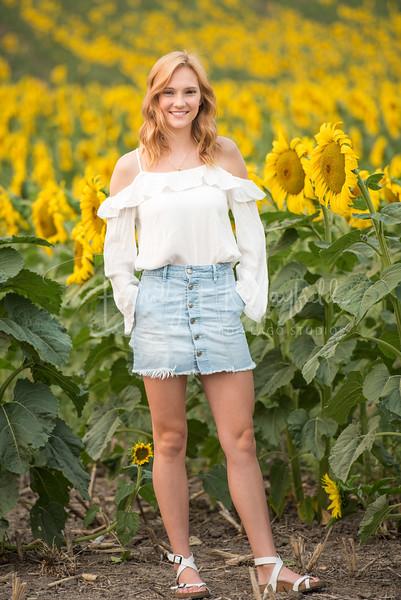 Senior Photos - Josie Whitsett - Sunflowers - WEBSITE-4723-009