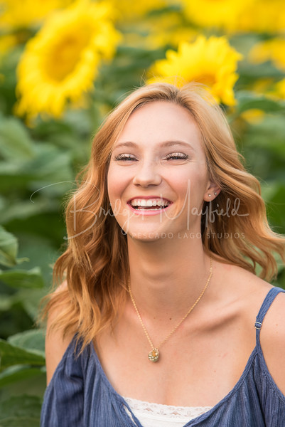 Senior Photos - Josie Whitsett - Sunflowers - WEBSITE-4802-036