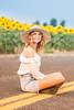 Senior Photos - Josie Whitsett - Sunflowers - WEBSITE-4840-045