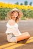 Senior Photos - Josie Whitsett - Sunflowers - WEBSITE-4839-044