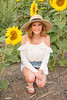 Senior Photos - Josie Whitsett - Sunflowers - WEBSITE-4711-001