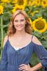 Senior Photos - Josie Whitsett - Sunflowers - WEBSITE-4786-030