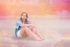 Natalie on the Beach 1