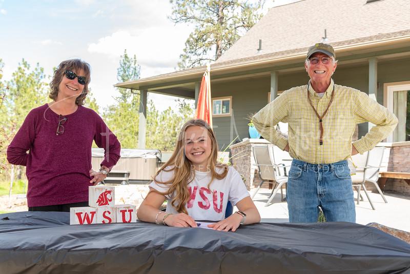 Sophia Van Wormer Signing (12)
