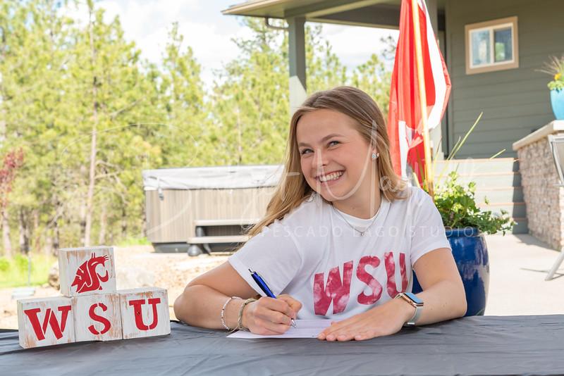Sophia Van Wormer Signing (2)
