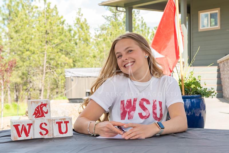 Sophia Van Wormer Signing (1)
