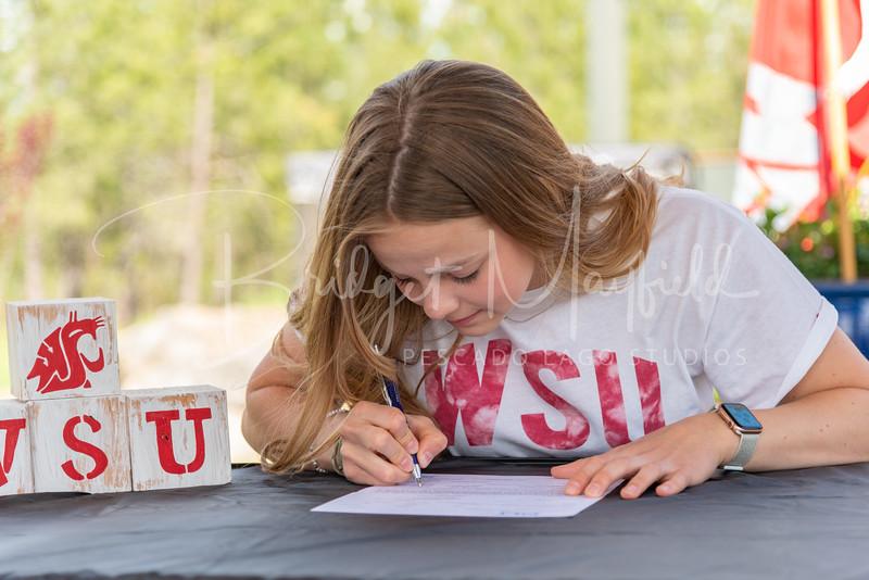 Sophia Van Wormer Signing (7)