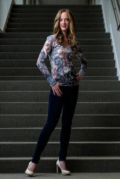 Miranda, Stairs