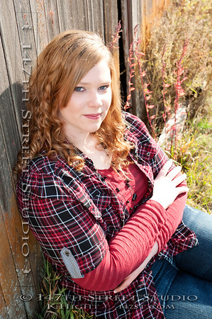 Megan chose two sessions.  These are my favorites from the outdoor session on her family's farm.