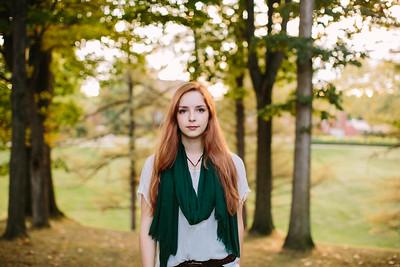Caitlin. Senior Portraits.