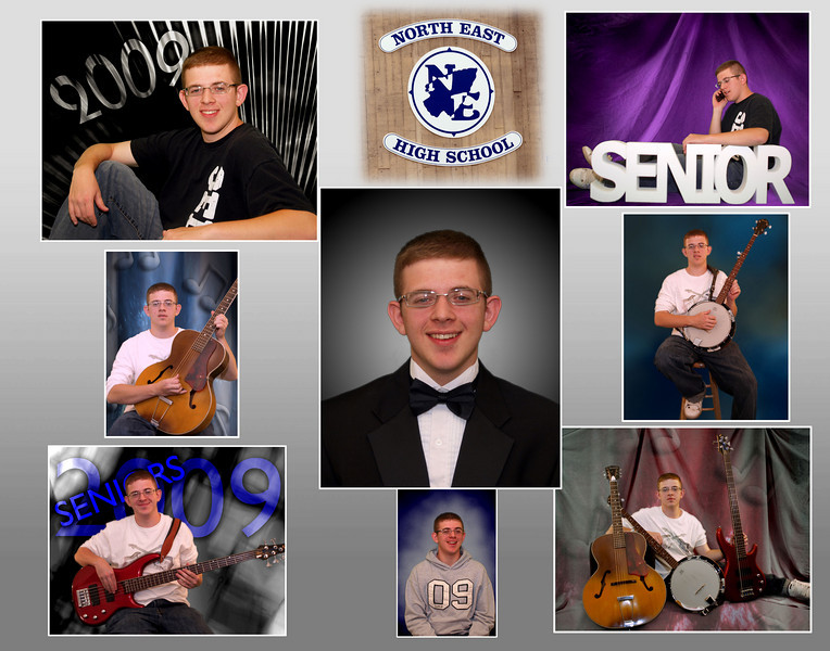 Create a collage of your favorite photo's.<br /> Collage's are available in 8x10, 11x14, 12x18, and 16x20 size's.
